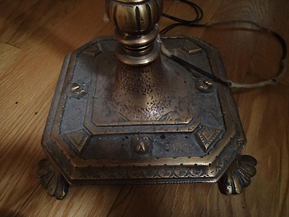 Vintage Brass Torchieres
