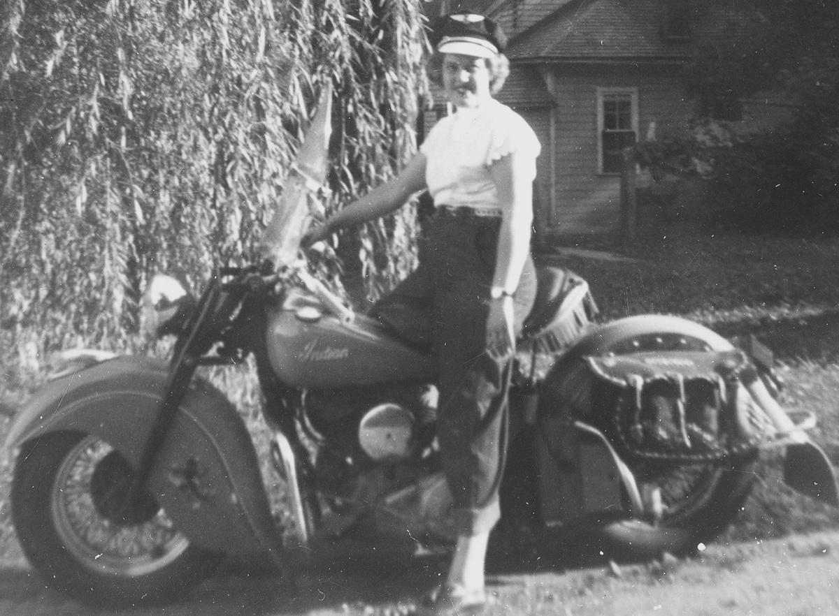 Doris Amp Russells Harley Horsehides Collectors Weekly