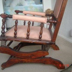 Springs For Chairs Narrow Dining Dexter Rocking Chair With 6 Spring Suspension Collectors