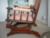 Dexter rocking chair with 6 spring suspension | Collectors ...