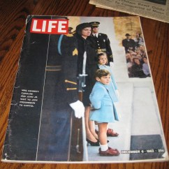 Cheap Kitchen Rugs Space Savers Cabinets Life Magazine Jfk Assassination | Collectors Weekly