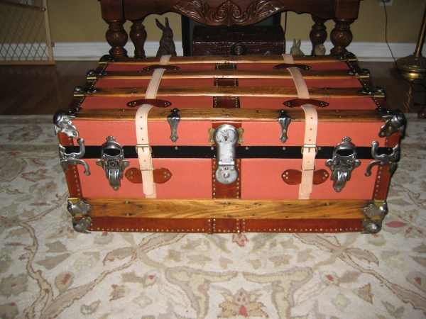 Small Steamer Trunk Collectors Weekly
