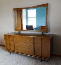 Mid Century Modern Bedroom Set ~ Dresser, Chest ...