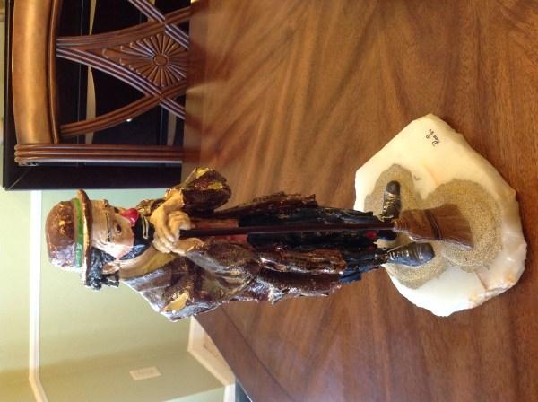 Coca Cola Emmett Kelly Jr America Clown Figurine - Year of Clean Water
