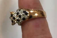 Vintage Gold Cat Ring | Collectors Weekly