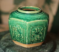 Large Green Ginger Jar | Collectors Weekly
