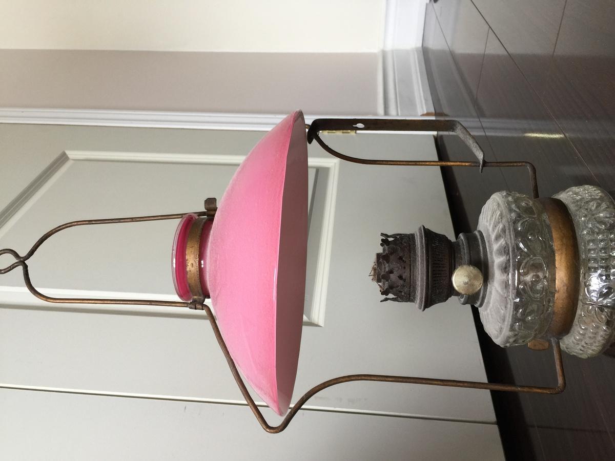 Antique Oil Lamps Needs Identification