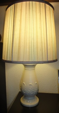 Antique Wedgewood Lamp | Collectors Weekly