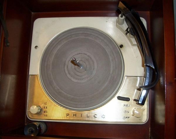 1959 Philco High Fidelity Radio And Rcord Player