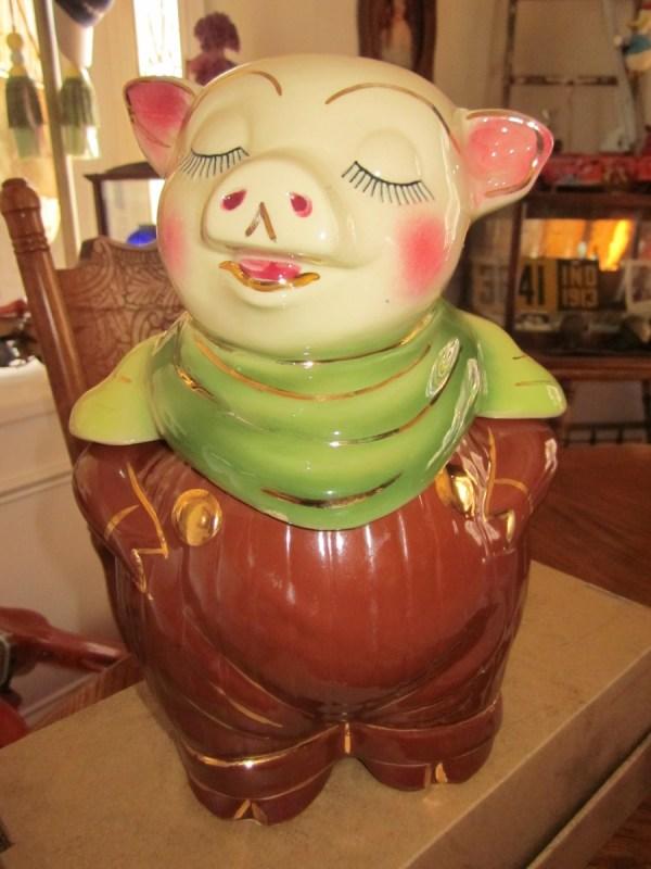 Shawnee Pig Bank Cookie Jar 1940' Collectors Weekly