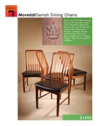 Mid Century Danish Modern MM Moreddi Teak Side Chair by ...