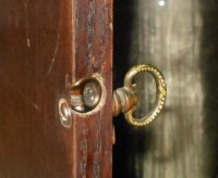 Possibly Antique China Cabinet Hardware Etc | Collectors ...