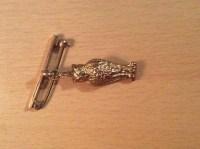 Owl tie pin | Collectors Weekly