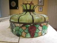 Vintage leaded glass lamp shade | Collectors Weekly