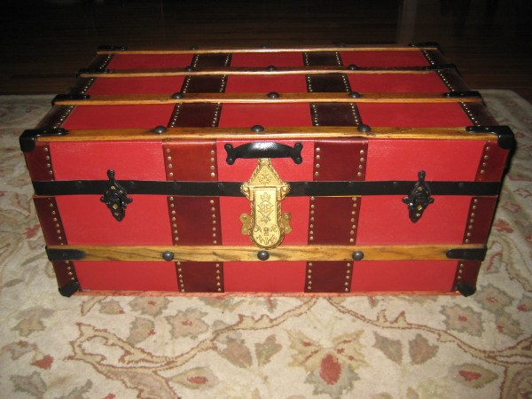 Small Repurposed Steamer Trunk Collectors Weekly