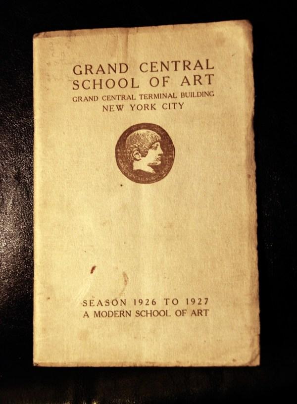 Grand Central School Of Art - Brochure Catalog 1927