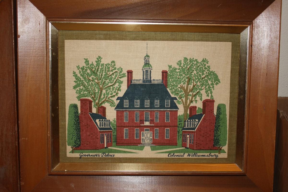 Vintage Colonial Williamsburg Prints