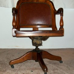 Baseball Desk Chair Counter Height Chairs Antique Bankers Marble And Shattuck Collectors Weekly