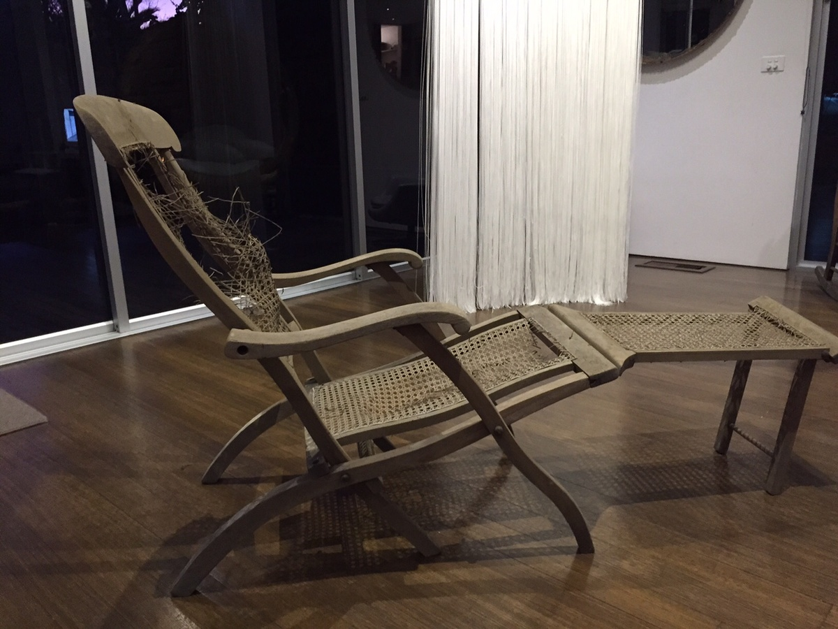 Titanic Deck Chair Titanic Era Deck Chair Collectors Weekly