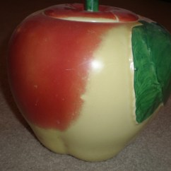 Apple Kitchen Rugs 33x19 Sink Hull Cookie Jar | Collectors Weekly