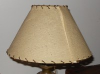Desk Lamp With Fiberglass Lamp Shade | Collectors Weekly