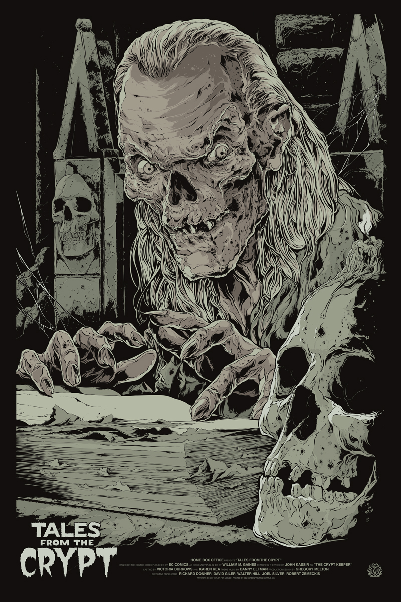 Friday The 13th Iphone Wallpaper Return To The Crypt Jack Davis Resurrects The Crypt