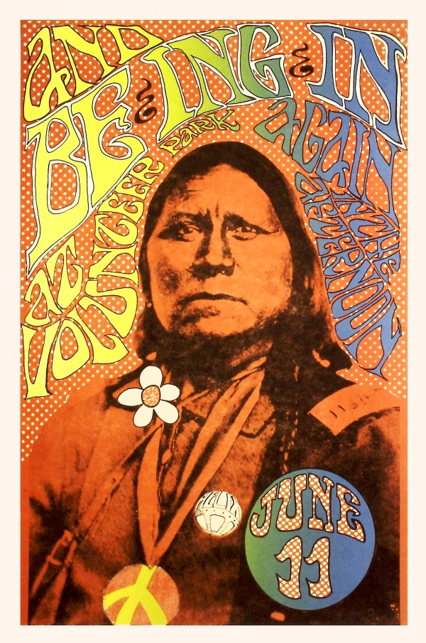 Rainy Day Psychedelia Seattle 1960s Poster Scene