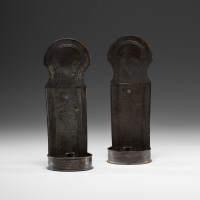 Tin Wall Sconces   Cowan's Auction House: The Midwest's ...