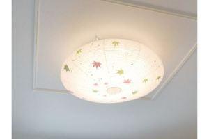 和紙照明 【LEDシーリングライト】 ネスト SC-002 もみじ ~和風照明 LED対応 和室 リビング 寝室 お洒落 モダン~ D48-01