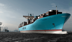 Eugen maersk containership