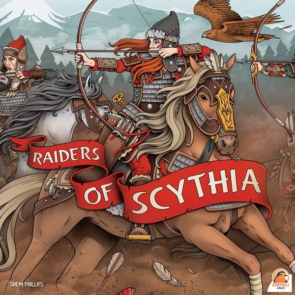 Raiders of Scythia Cover