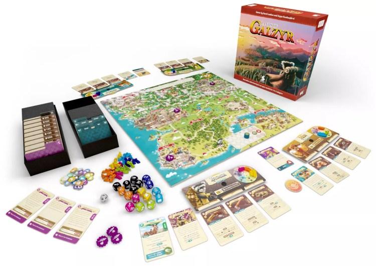 Proyectos Gamefound Galzyr