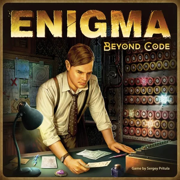 Enigma. Beyond Code - official game box