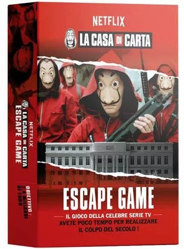 Escape Game La Casa De Papel : escape, papel, Browse, Papel, Escape, GeekMarket