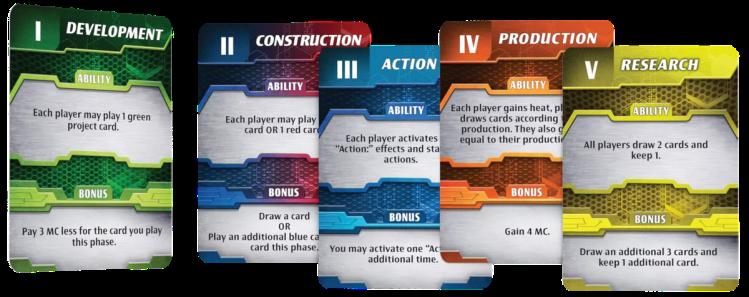 Cartas de acción - Ares Expedition Primeras Impresiones
