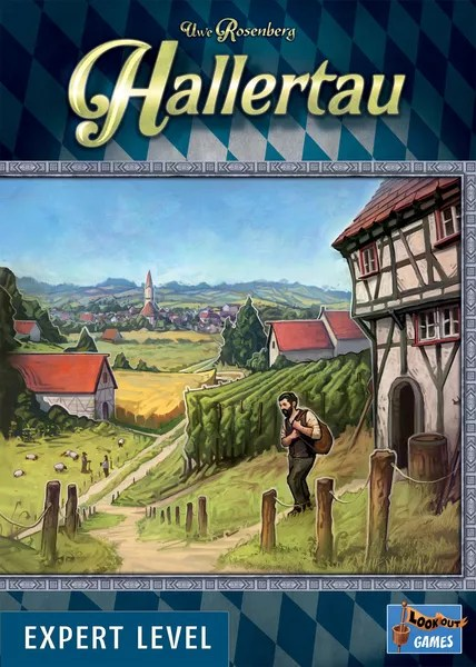 Hallertau, Lookout Games, 2021 — front cover (image provided by the publisher)