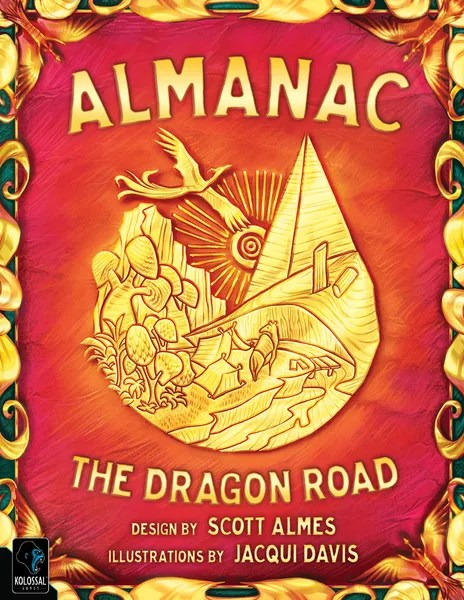 Cover for Almanac: The Dragon Road