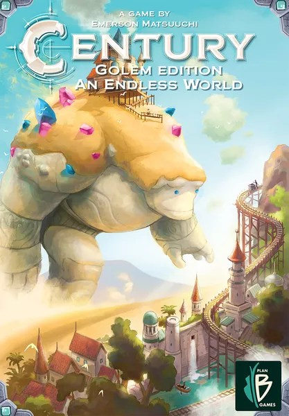 Century: Golem Edition – An Endless World, Plan B Games, 2020 — front cover (image provided by the publisher)
