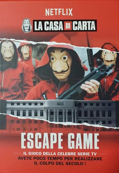 Escape Game La Casa De Papel : escape, papel, Papel, Escape, Image, BoardGameGeek