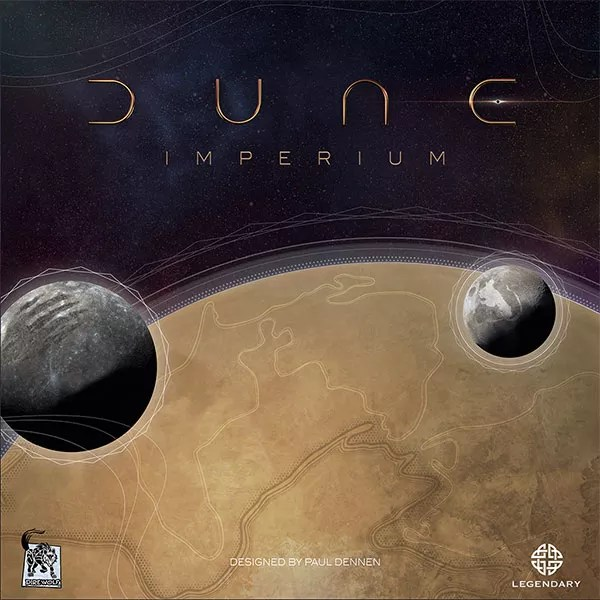 Dune: Imperium, Dire Wolf — front cover (image provided by the publisher)