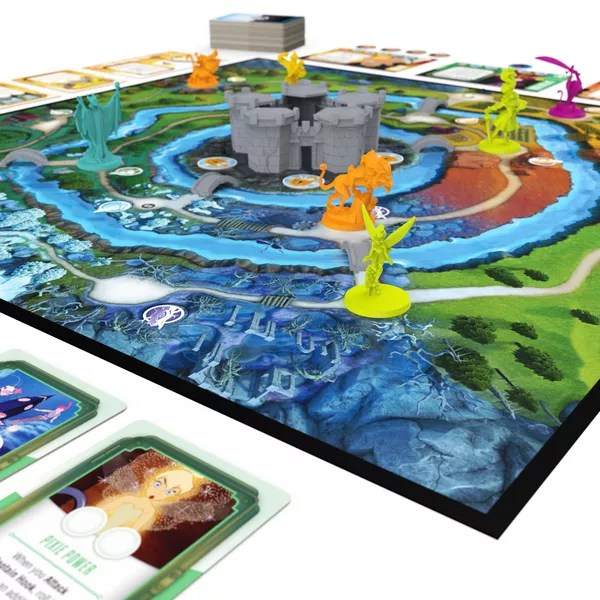 Disney Sidekicks, Spin Master Games, 2021 — game board close up (image provided by the publisher)