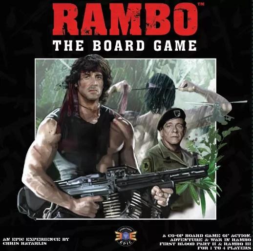 Rambo the board Game