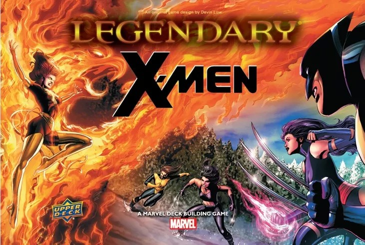 Image result for Legendary: Marvel X-Men board game
