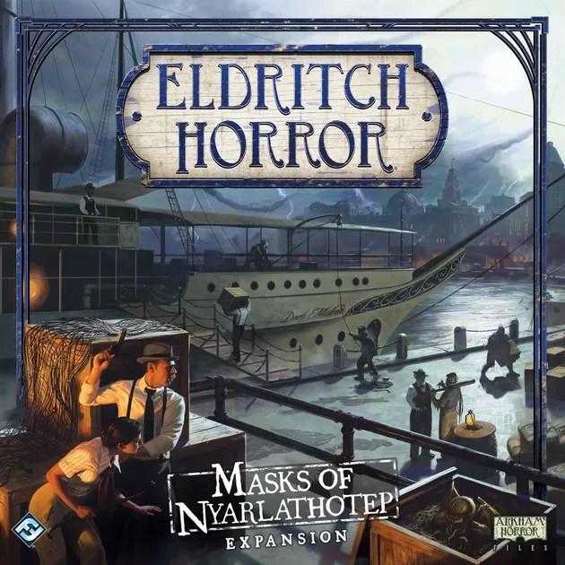 Image result for Eldritch Horror: Masks ofNyarlathotep