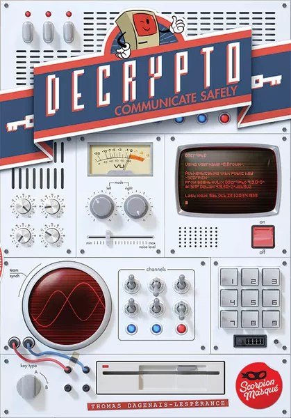 Decrypto, Le Scorpion Masqué, 2017 — front cover, English (image provided by the publisher)