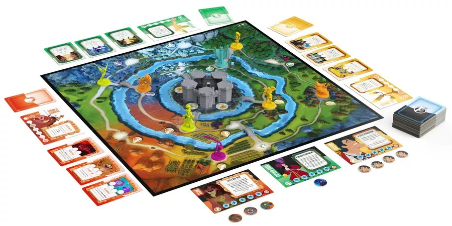 Disney Sidekicks, Spin Master Games, 2021 — gameplay example (image provided by the publisher)