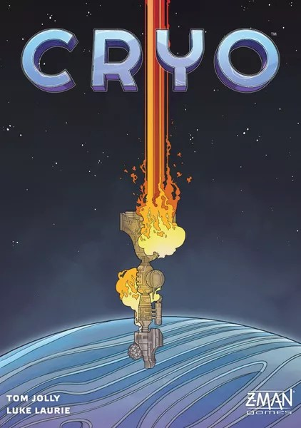 Cryo, Z-Man Games, 2021 — front cover (image provided by the publisher)