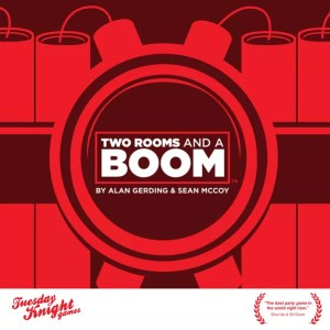 Two Rooms and a Boom First Edition Box Cover