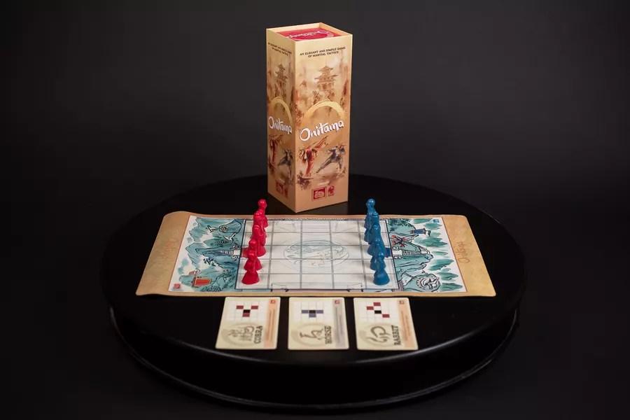 onitama juego de mesa