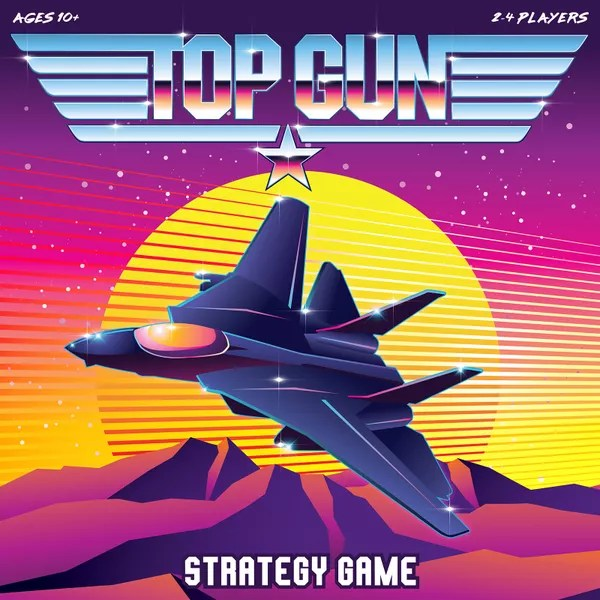 Top Gun Strategy Game, Mixlore, 2020 — front cover (image provided by the publisher)